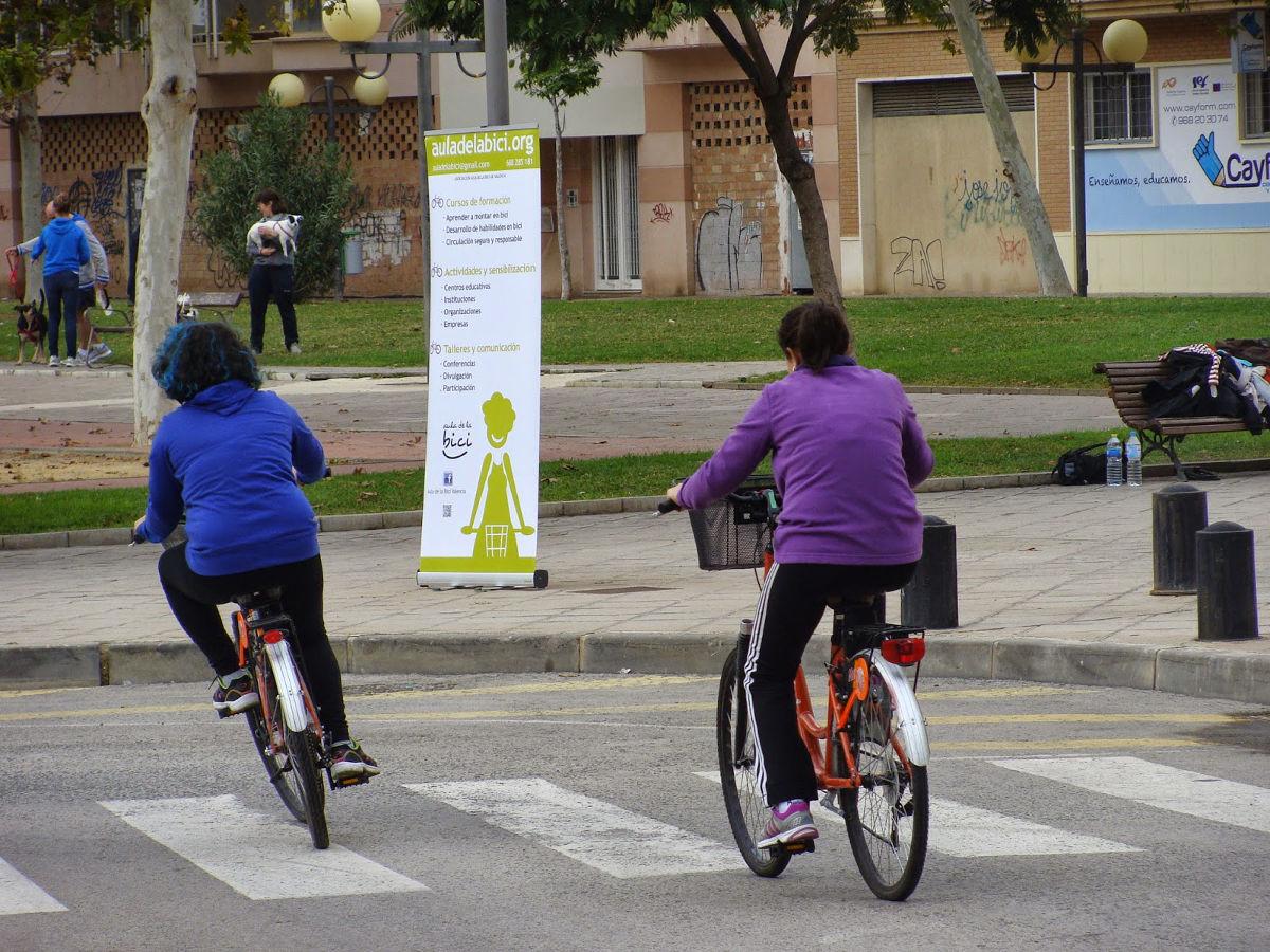 Aula de la Bici en Murcia