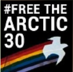 Logo Greenpeace Free The Arctic